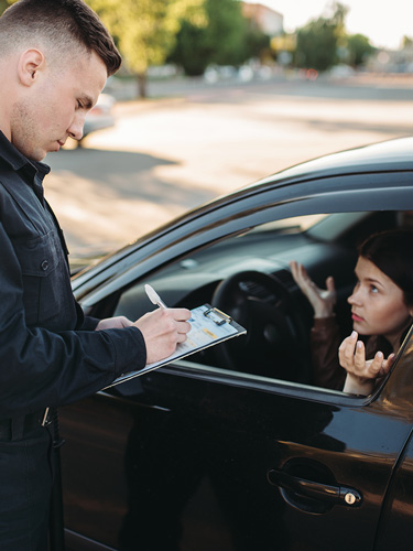 DUI-Law-Firm-Denver-caught-by-police